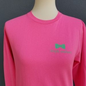 Simply Southern Tops - Simply Southern Pink Long Sleeve T-shirt Turtle S